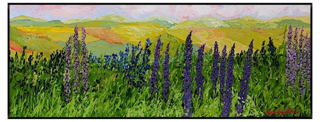 Allan Friedlander, Purple Fields