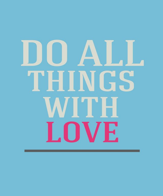 Do All The Things You Love