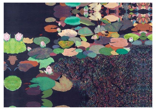 Friedlander, Lily Pond Canvas