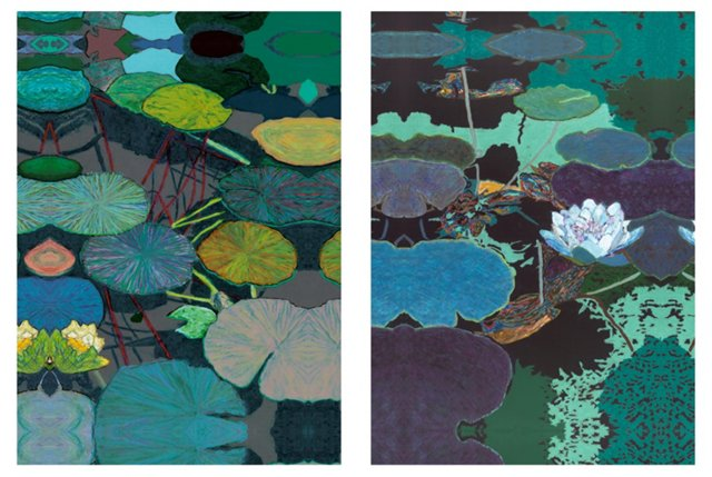 Friedlander, Water Lilies, Set of Two