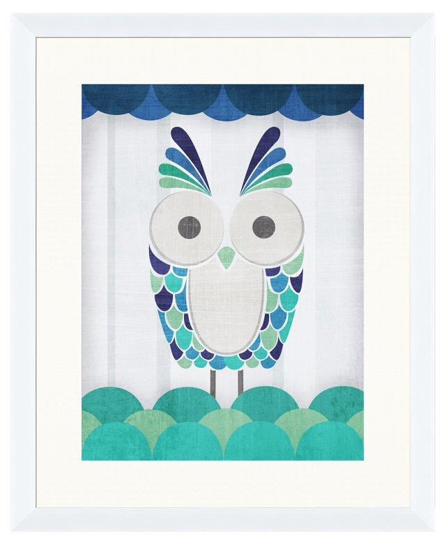 Colorful Owl I