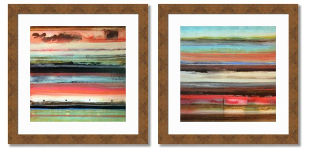 Essence of Abstract, Set of 2