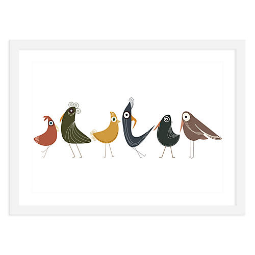 Birds of a Feather, Mini, ModernPOP