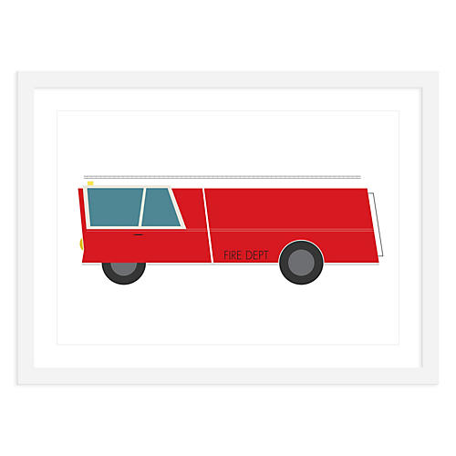 ModernPOP, Fire Truck, Mini