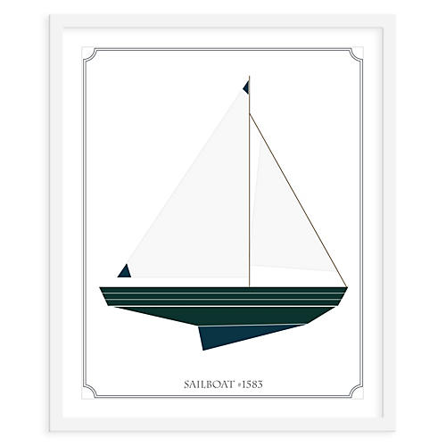 ModernPOP, Sailboat Right, Mini