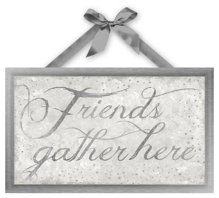 Friends Gather Here, Silver
