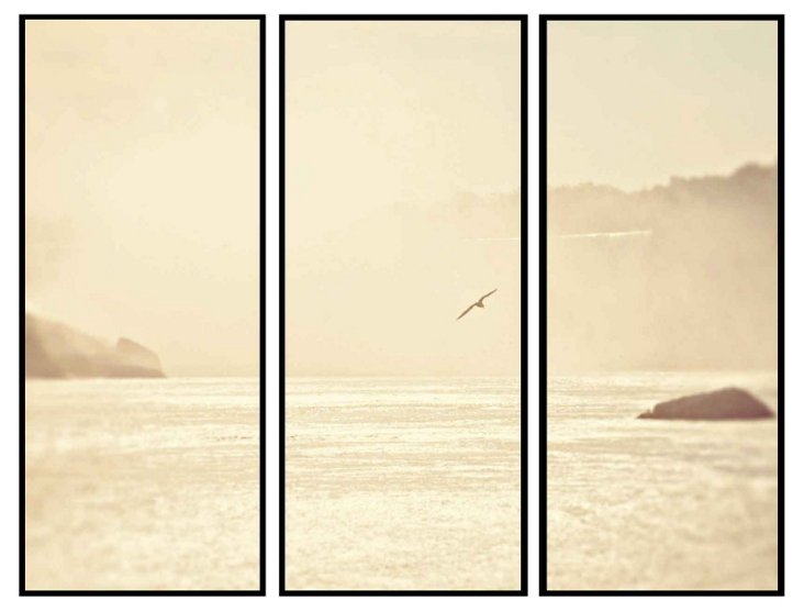 Summertime on the Water Triptych