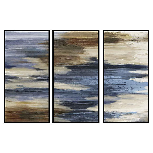 Abstract Formulation Triptych
