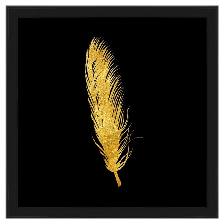 Golden Feather, Black Frame