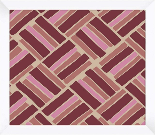 Burgundy & Pink Pattern