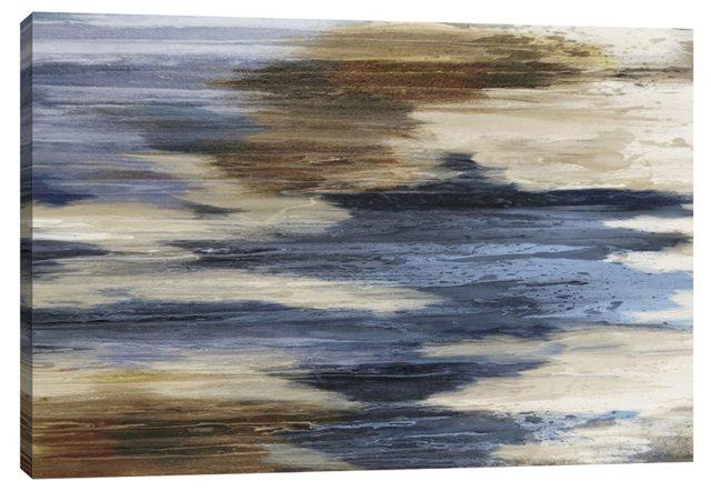 Elegant Blue Hue Abstract