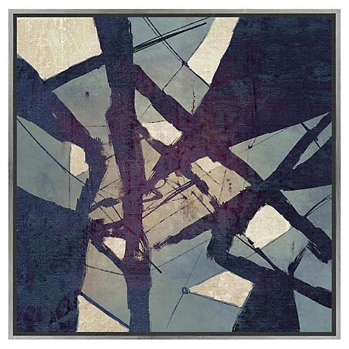 Blue Tangle, Canvas
