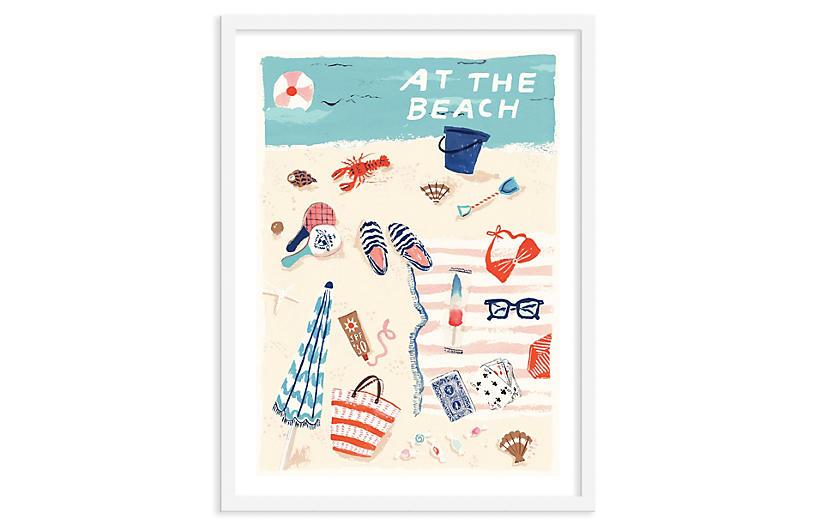Danielle Kroll, Beach