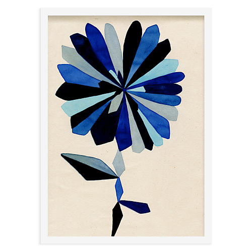 As Collective, Blue Doodle Flower 365