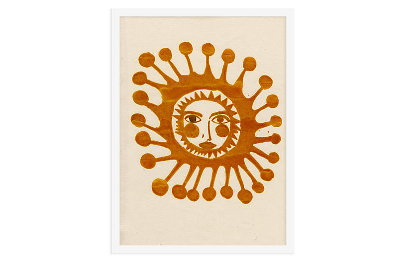 Sun V - As Collective Art