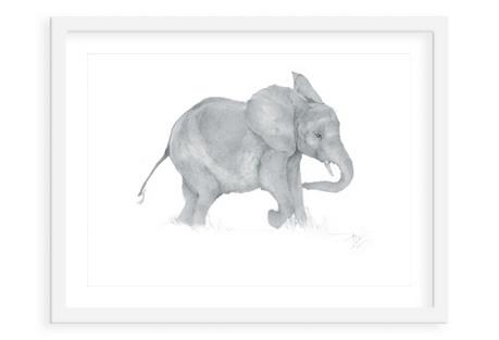 Heather Lancaster, Baby Elephant