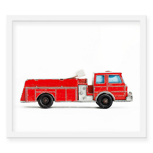 Fire Truck, Leslee Mitchell