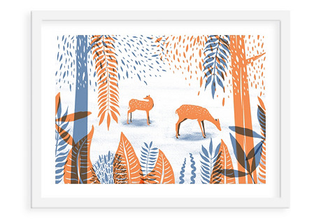 Papio Press, Deer in the Woods