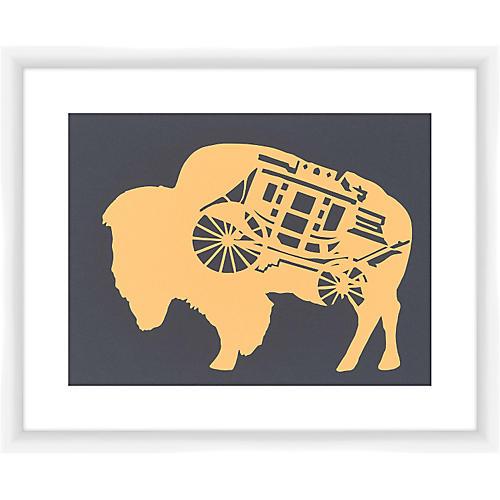 Rankin Willard, Staged Bison