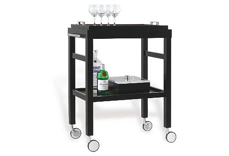 Amelie Bar Cart, Black