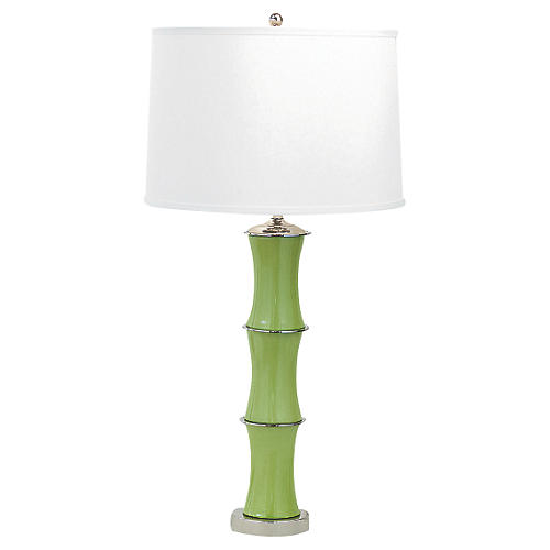Rivoli Table Lamp, Green