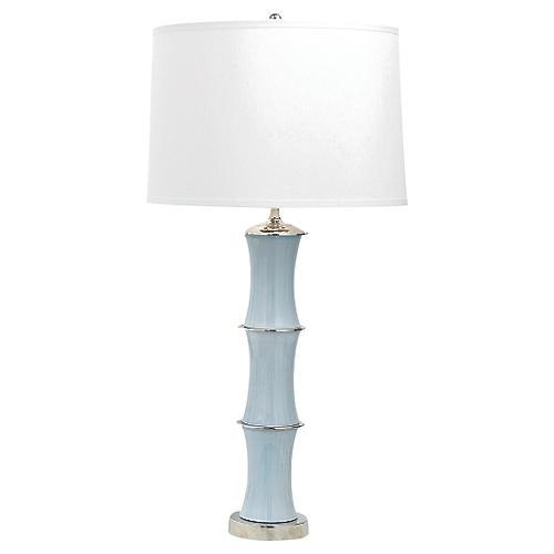 Rivoli Table Lamp, Smoke Gray