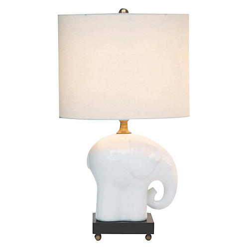 Bambino Table Lamp, Ivory