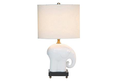 Bambino Table Lamp, Ivory