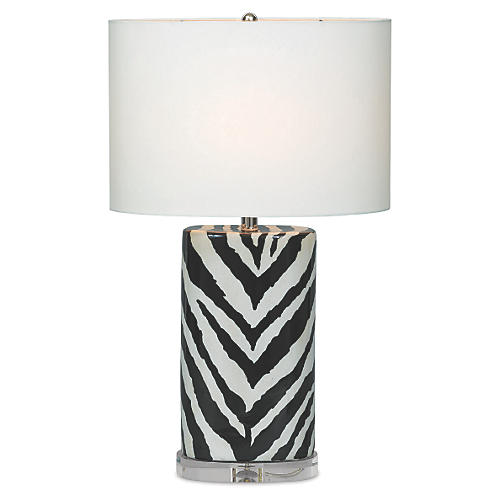Kenya Table Lamp, Black