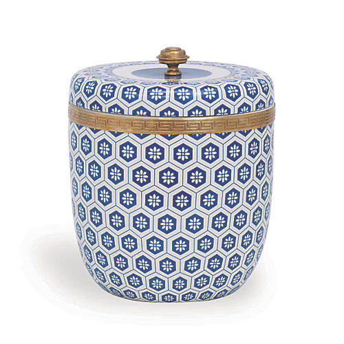 "11"" Kenilworth Round Box, Blue"