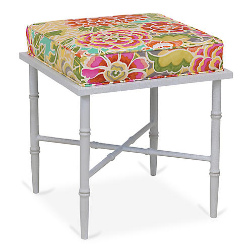 Doheny Stool, Pink/Multi