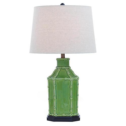 Amelia Table Lamp, Green