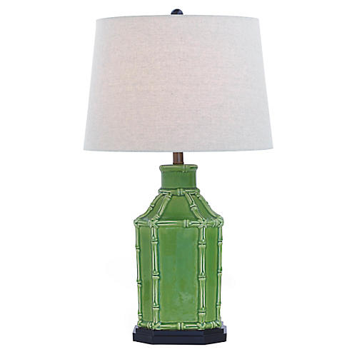 Amelia Table Lamp, Green