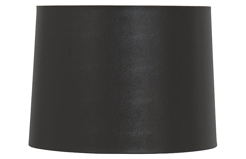 Hardback Lamp Shade, Black