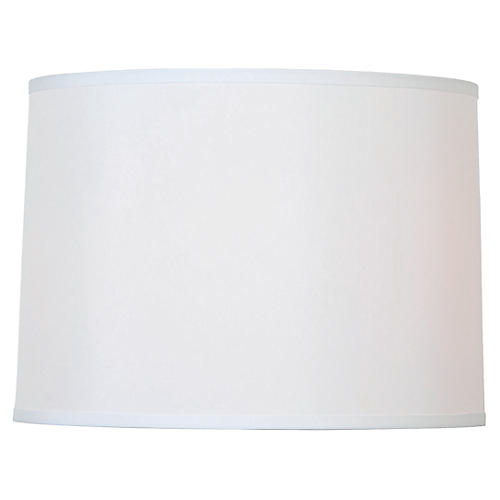 Hardback Lamp Shade, Off-White