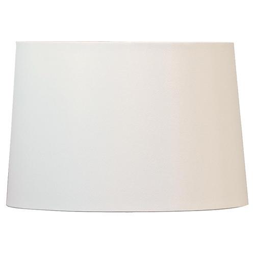 Hardback Lamp Shade, Ivory