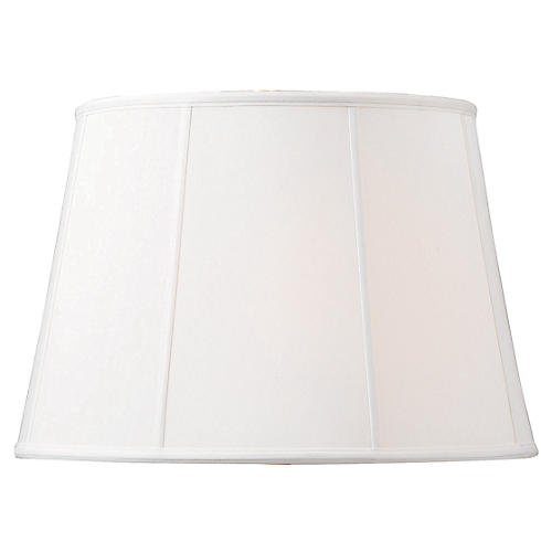 Empire Lamp Shade, Ivory