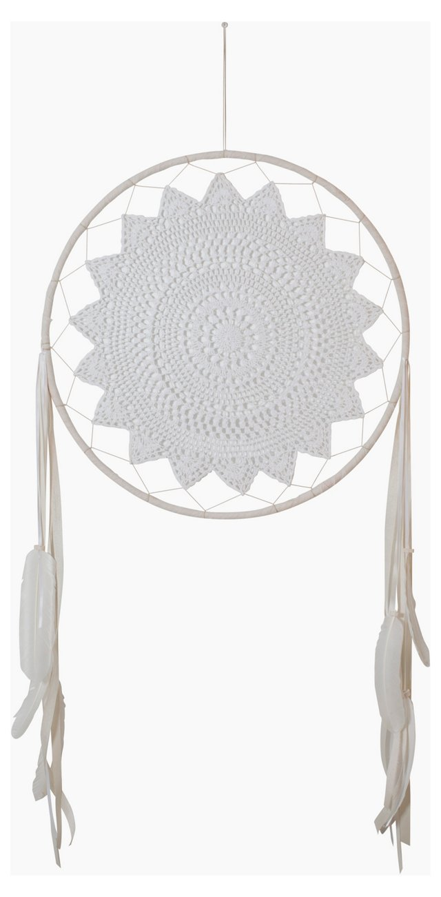 Extra Large Crochet Dreamcatcher