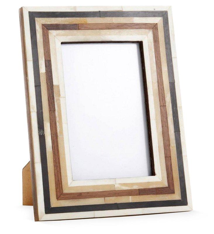 Wood & Bone Frame, 4x6