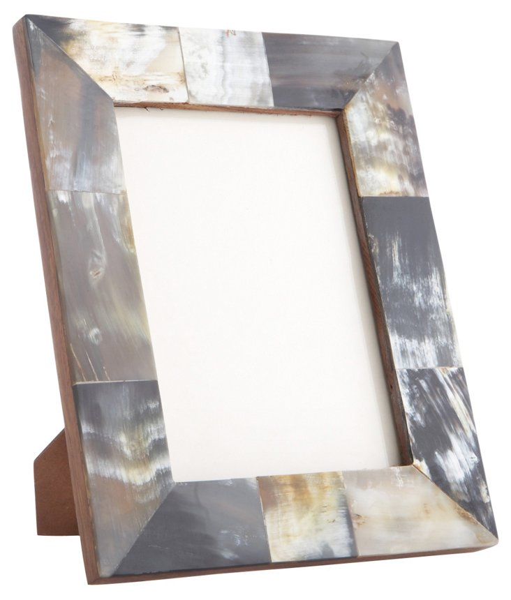 Horn Frame, 5x7, Natural