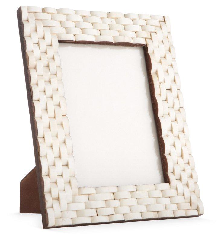 Looped Frame, 4x6, White