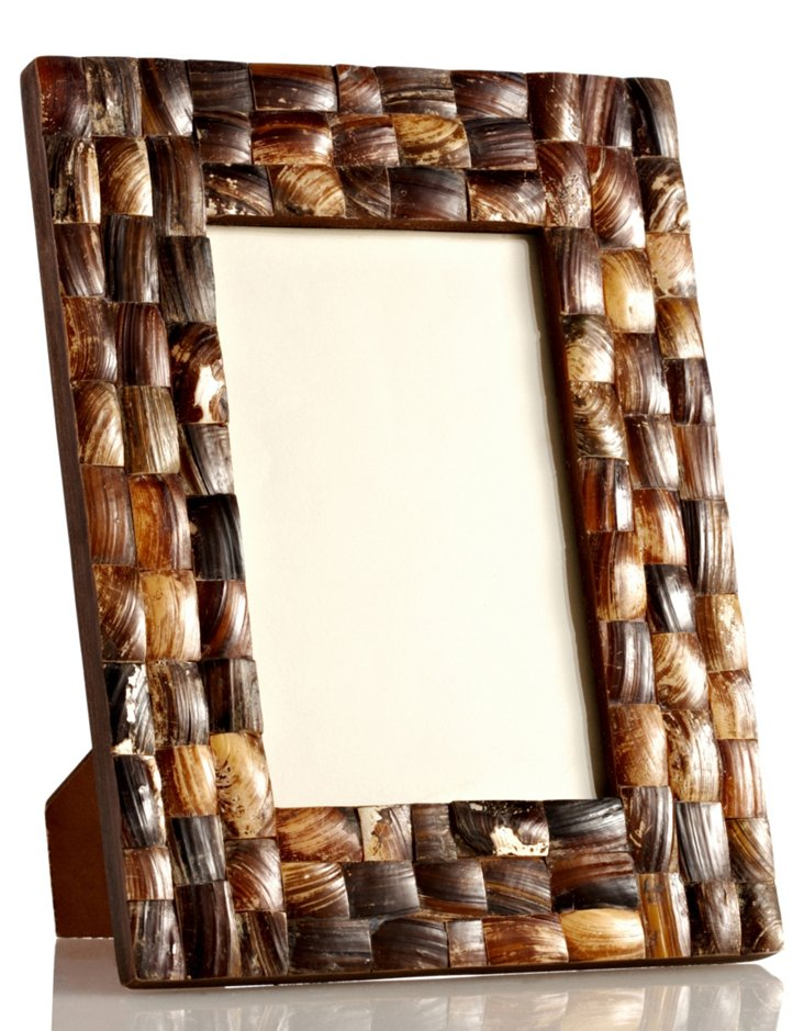 Mother-of-Pearl Frame, 4x6