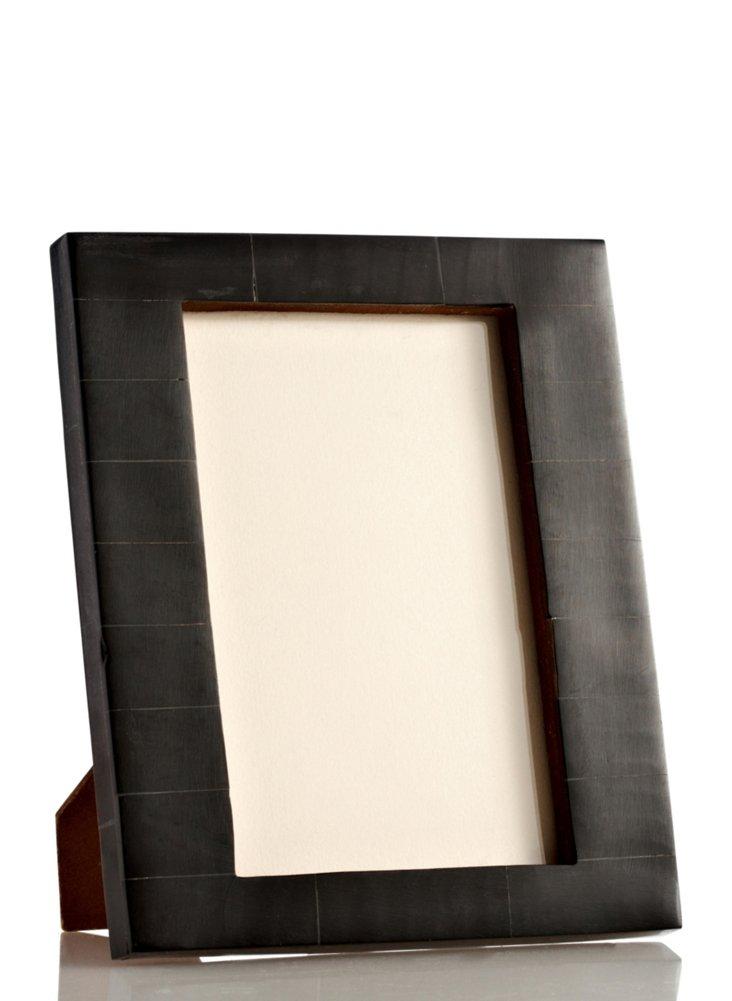 Uneven Bone Frame, 4x6, Black