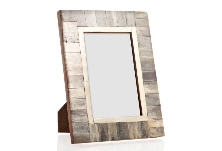 Bone Frame, 4x6, Slate