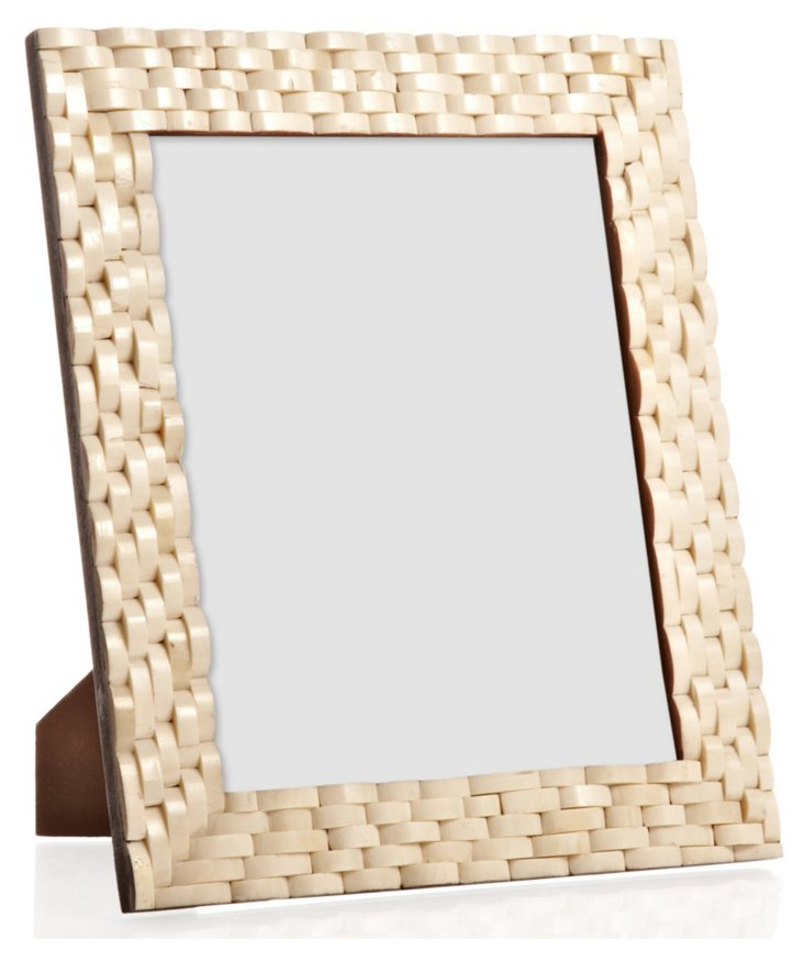 Loop Bone Frame, 8x10, White