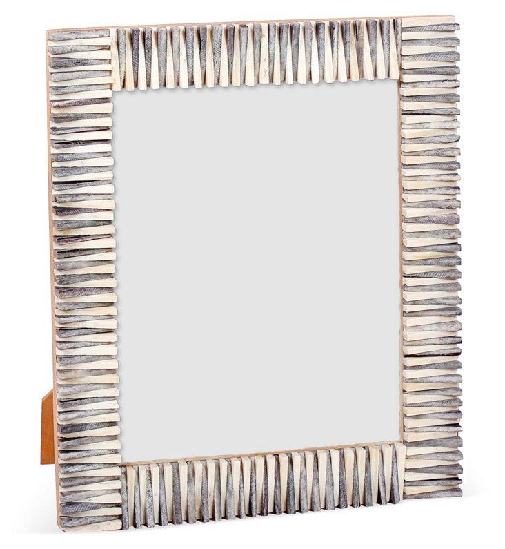 Jagged-Edge Frame, 8x10, Gray