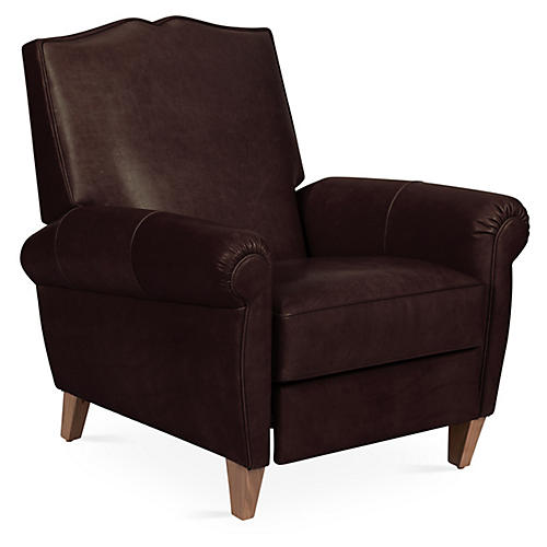 Hartford Club Recliner, Espresso Leather