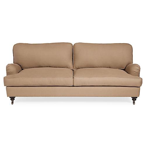 Durham Sofa, Natural Linen