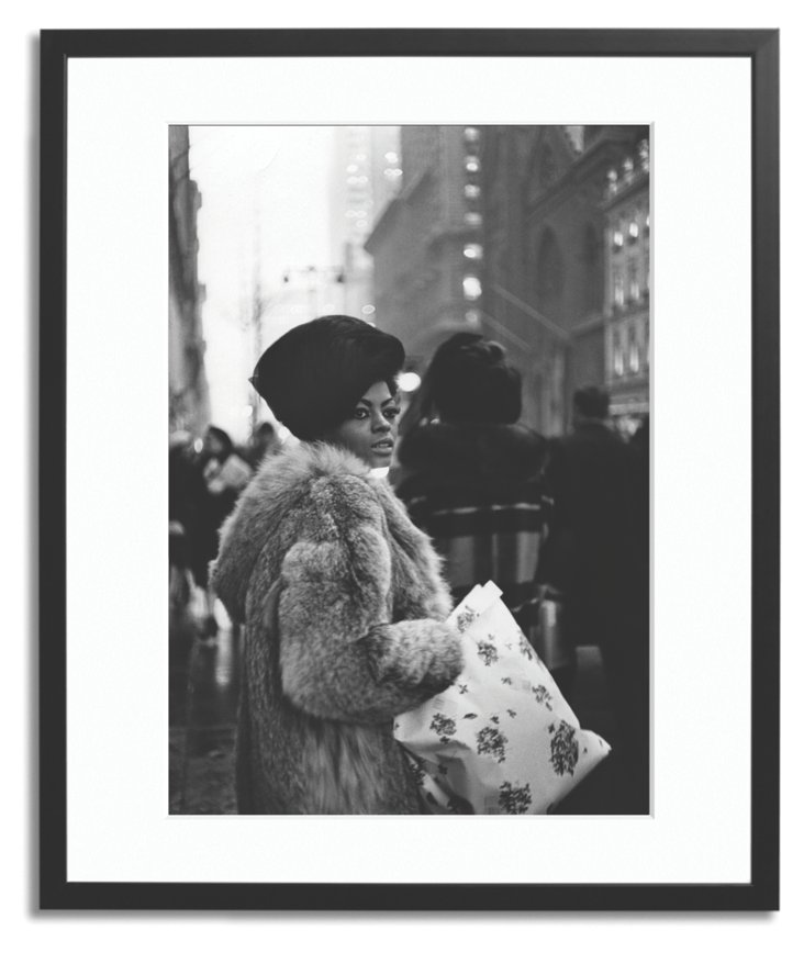 Diana Ross Goes Shopping, c 1965