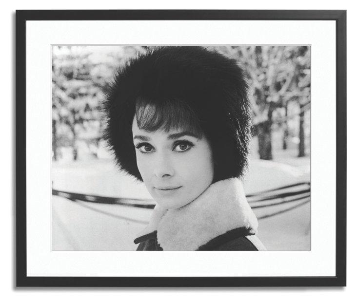 Hepburn in Fur